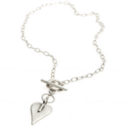 Danon Jewellery Silver Mini Heart Necklace N4502S