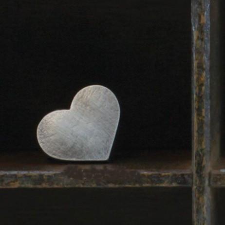 Danon Silver Heart Ring Adjustable