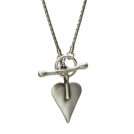 Danon Silver Necklace With Small Heart