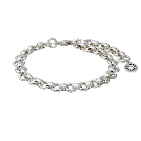 Pilgrim Silver Plated Essentials Bracelet