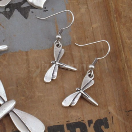 Danon Jewellery Danon Earrings Silver Dragonfly