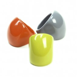 Hot Tomato Acrylic Chunky Ring