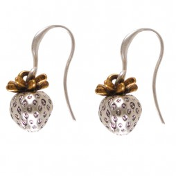 Hultquist Jewellery Strawberry Bi Colour Earrings