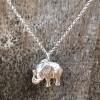Hot Tomato Jewellery Silver Elephant Necklace