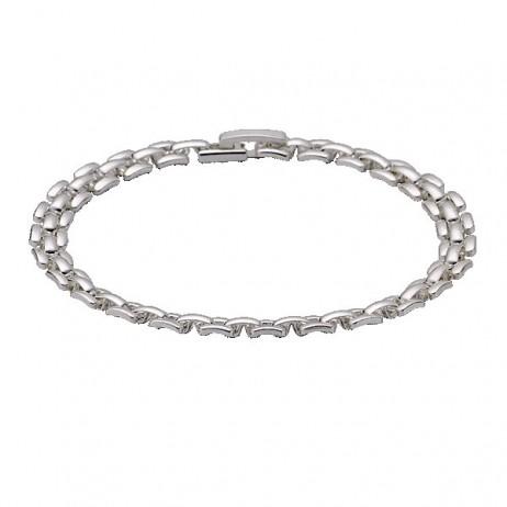 Pilgrim Bracelet Classic Silver Plated