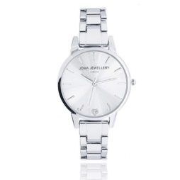 Joma Jewellery Silver Piper Watch JJW002