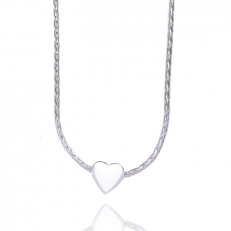 Joma jewellery silver plated jenna necklace
