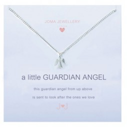 Joma girls a little guardian angel silver necklace C050