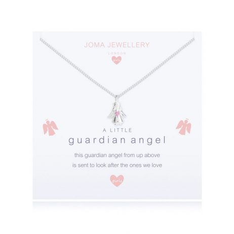 Joma Jewellery Girls a Little Guardian Angel Silver Necklace C410