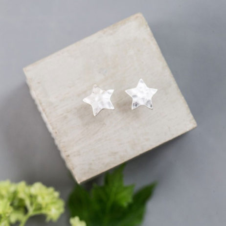 Tutti and Co Jewellery Silver Star Studs
