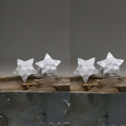 Tutti & Co Jewellery Silver Star Earrings