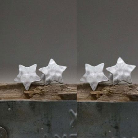 Tutti & Co Jewellery Silver Star Earrings