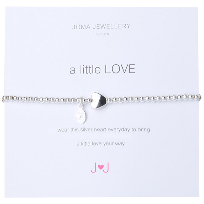 Joma Jewellery A Little Love Bracelet Silver Heart