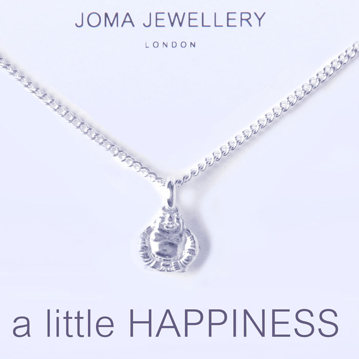 Official joma jewellery a little happiness silver buddha necklace joma jewellery a little happiness silver buddha necklace 483 aloadofball Images