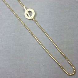 Sence Copenhagen Long Gold Plated Necklace