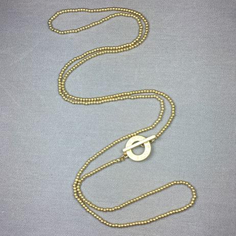 Sence Copenhagen Long Gold Plated Necklace