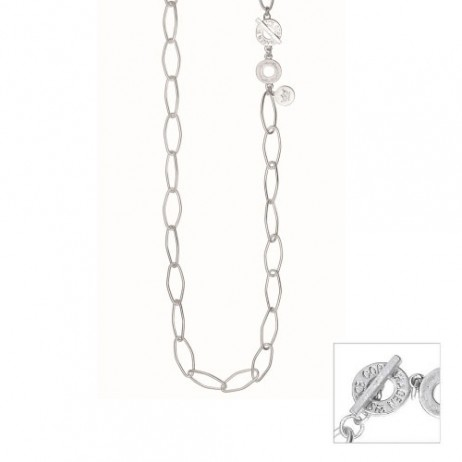 Sence Copenhagen Essentials Silver Plated Links Necklace