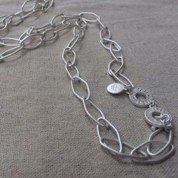 Sence Copenhagen Essentials Silver Plated Links Necklace