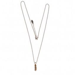 Hultquist Jewellery Mini Pea Pod Bi Colour Long Necklace