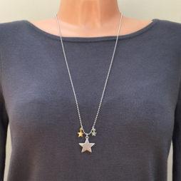 Hultquist Jewellery Starraine Bi Colour Necklace