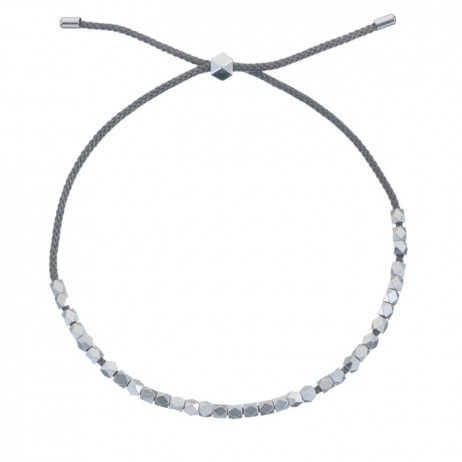 Estella Bartlett Silver Plated Coco Grey Bracelet