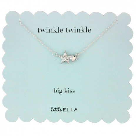 Little Ella Children's Twinkle Twinkle Stars Necklace