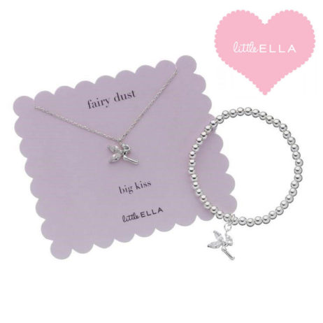 Little Ella Children's Fairy Necklace and Bracelet Set