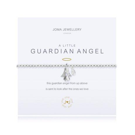 Joma Jewellery A Little Guardian Angel Silver Bracelet 2273