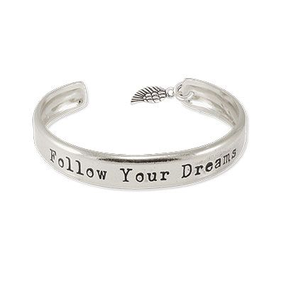 Danon Jewellery Follow Your Dreams Bracelet with Angle Wing