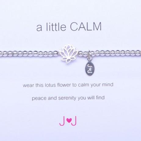 Joma Jewellery a little Calm Silver Bracelet 330