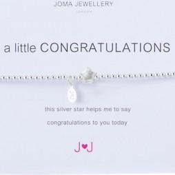 Joma Jewellery a little congratulations bracelet