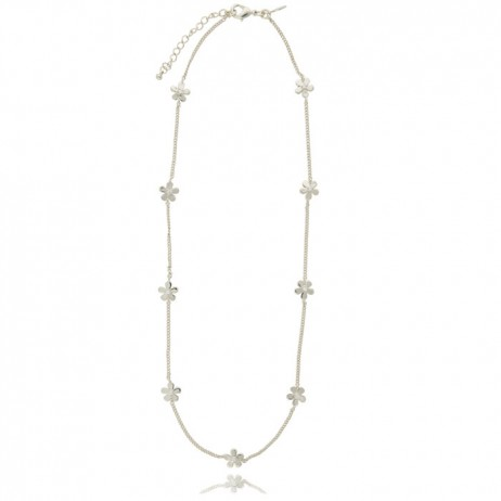 Joma Jewellery Silver Daisy Chain Necklace 801
