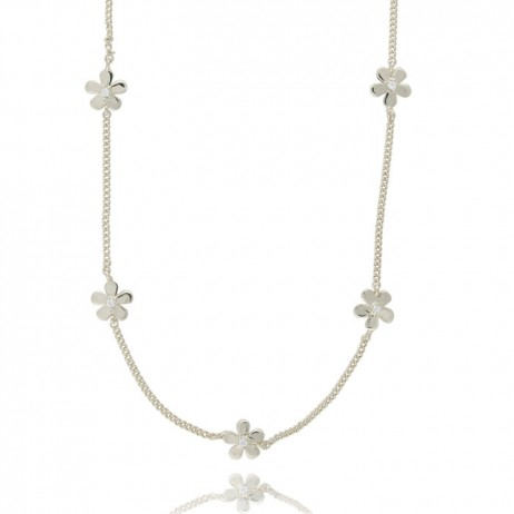 Joma Jewellery Silver Daisy Chain Necklace