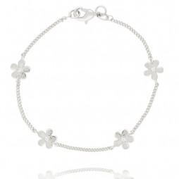 Joma jewellery Silver Daisy Chain Bracelet