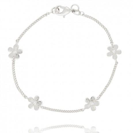 Joma Jewellery Silver Daisy Chain Bracelet 802 - EOL