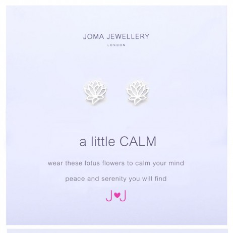 Joma Jewellery a little Calm silver Earrings