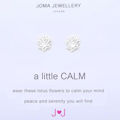 Joma Jewellery a little Calm silver Earrings 486