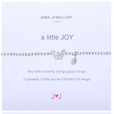 Joma Jewellery a little JOY Silver Bracelet