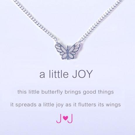 Joma Jewellery a little JOY Silver Necklace 516
