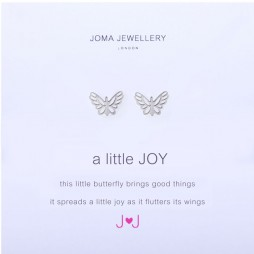 Joma Jewellery a little JOY Silver Earrings