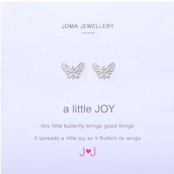 Joma Jewellery a little JOY Silver Earrings 517