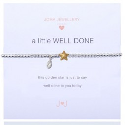 Joma Jewellery Girls a little Well Done Star Bracelet