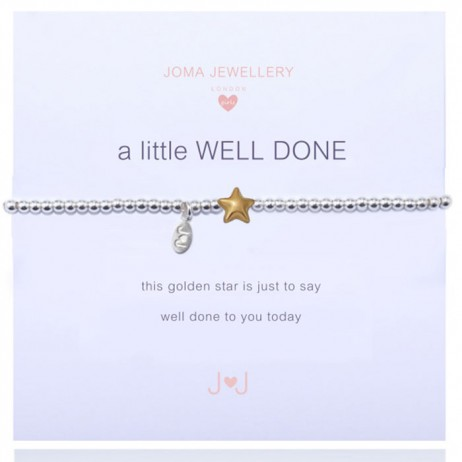 Joma Jewellery Girls a little Well Done Star Bracelet C105