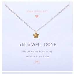 Joma Jewellery Girls a little Well Done Silver Necklace