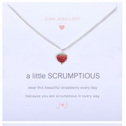 Joma Jewellery Girls a little Scrumptious Silver Necklace C162