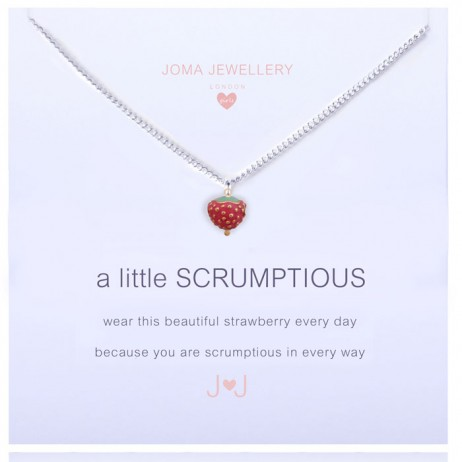 Joma Jewellery Girls a little Scrumptious Silver Necklace