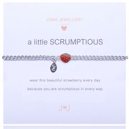 Joma Jewellery Girls a little Scrumptious Silver Bracelet