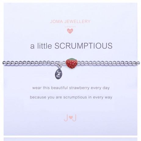 Joma Jewellery Girls a little Scrumptious Silver Bracelet C163