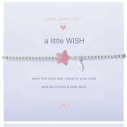 Joma Jewellery Girls a little Wish Silver Bracelet