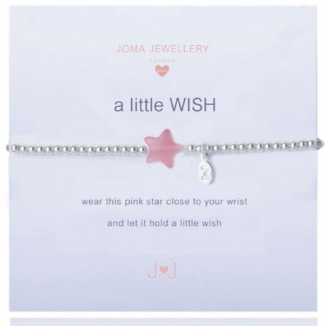 Joma Jewellery Girls a little Wish Silver Bracelet C015 - EOL